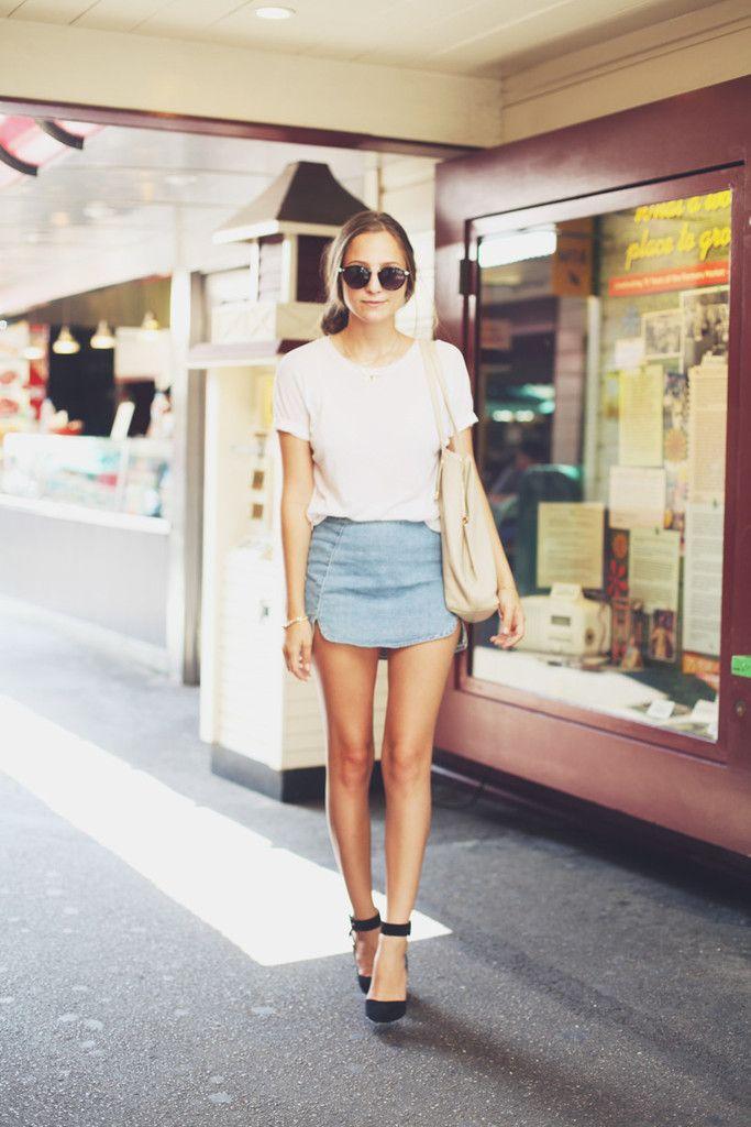 denim mini skirt 2016 style 2