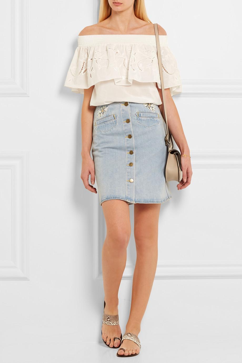 denim skirt style 1