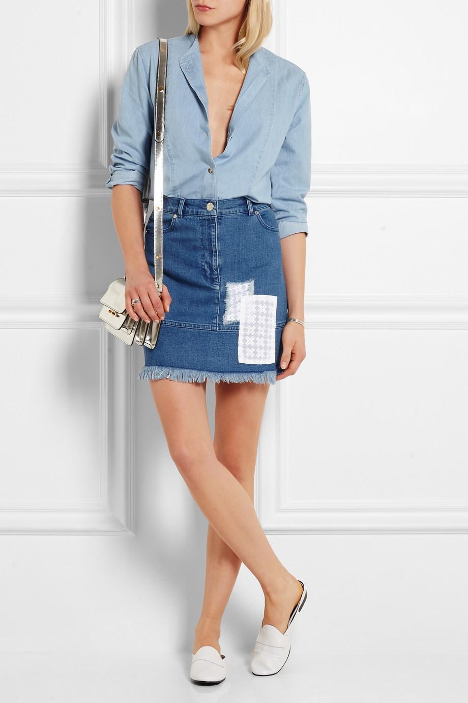 denim skirt style 4