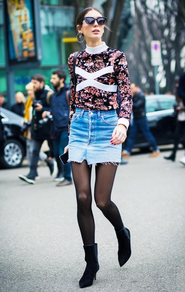 denim skirt style 7