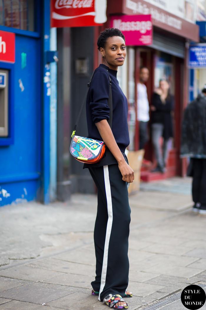 side stripe pants street style 1