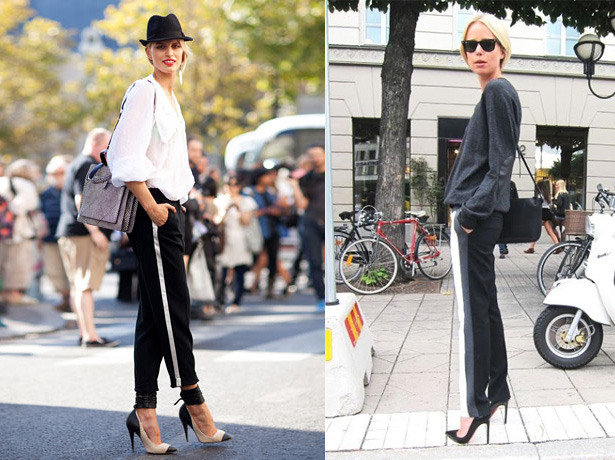 side stripe pants street style 7