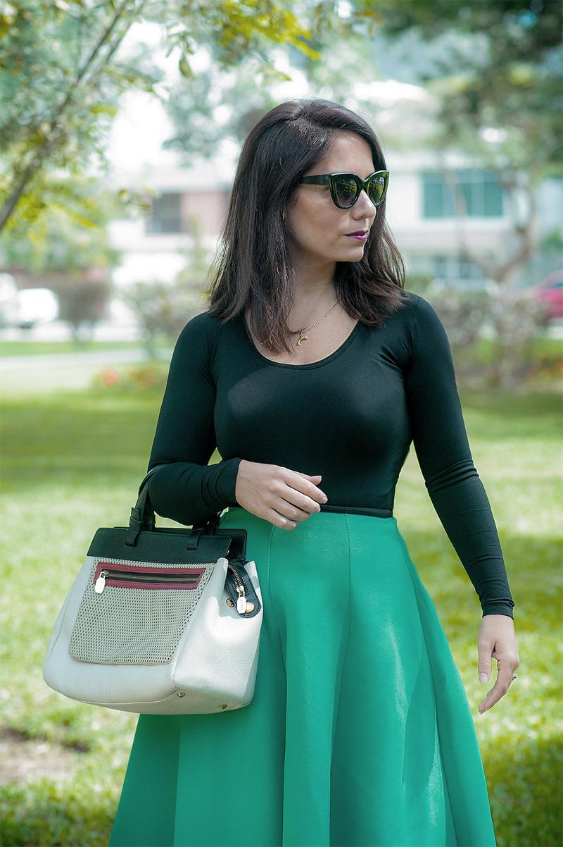 serendipity falda verde y lalalove 1