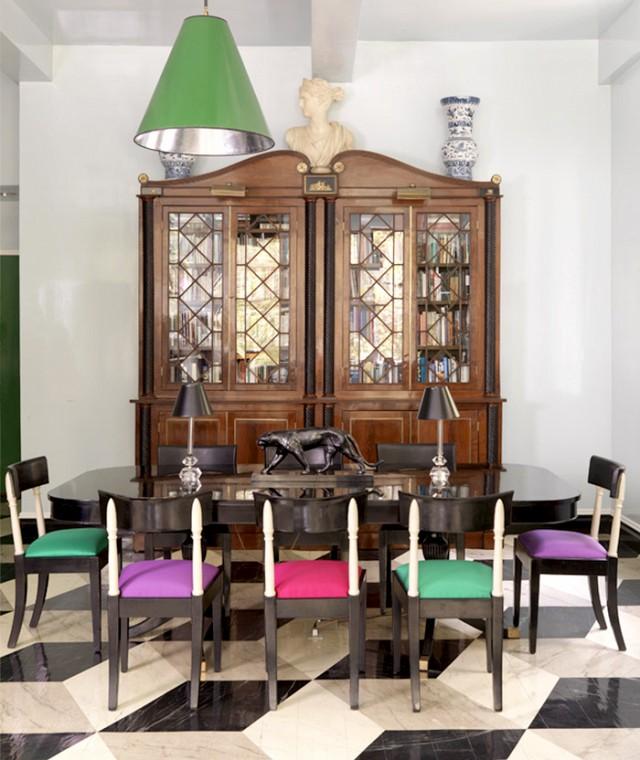 Diferentes estilos y colores para tus sillas comedor la - Sillas comedor colores ...