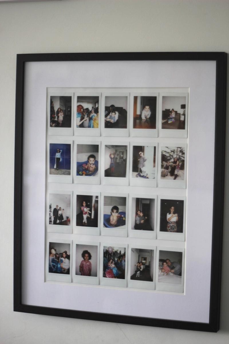 Polaroid fotos La vida de serndipity Decoración 5