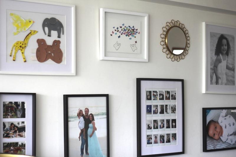 gallery wall La vida de serndipity Decoración 10