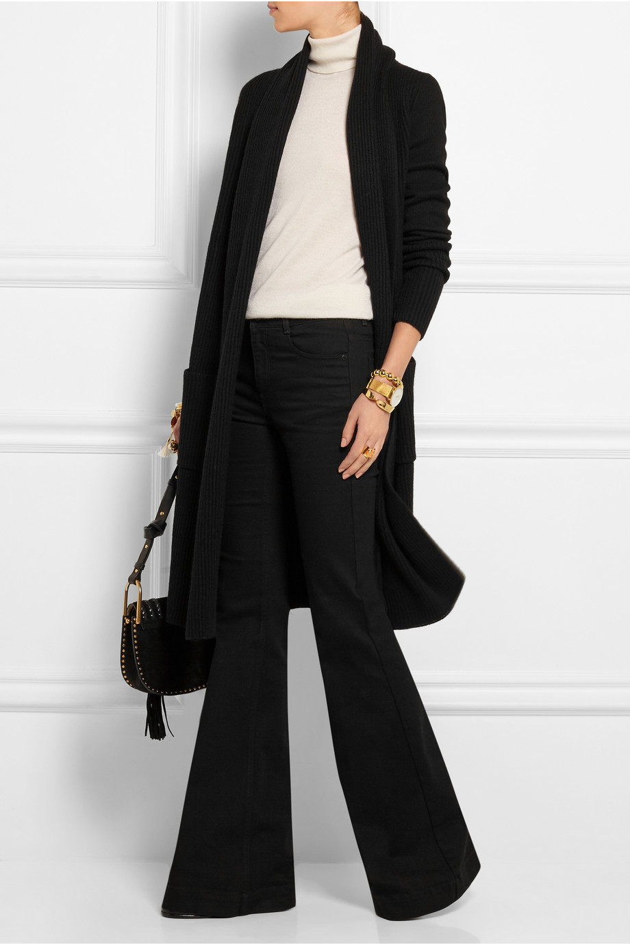 how to wear maxi cardigans donna karan
