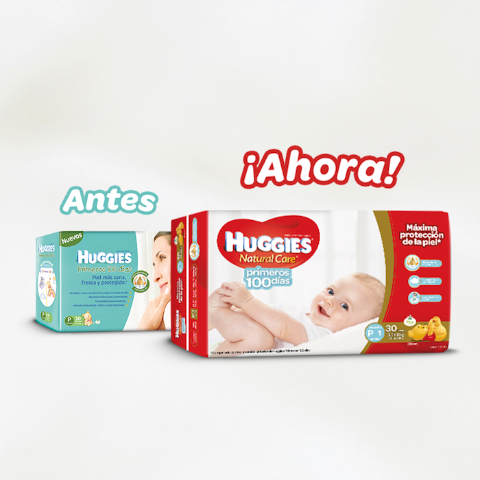 Huggies Natural Care Primeros 100 días