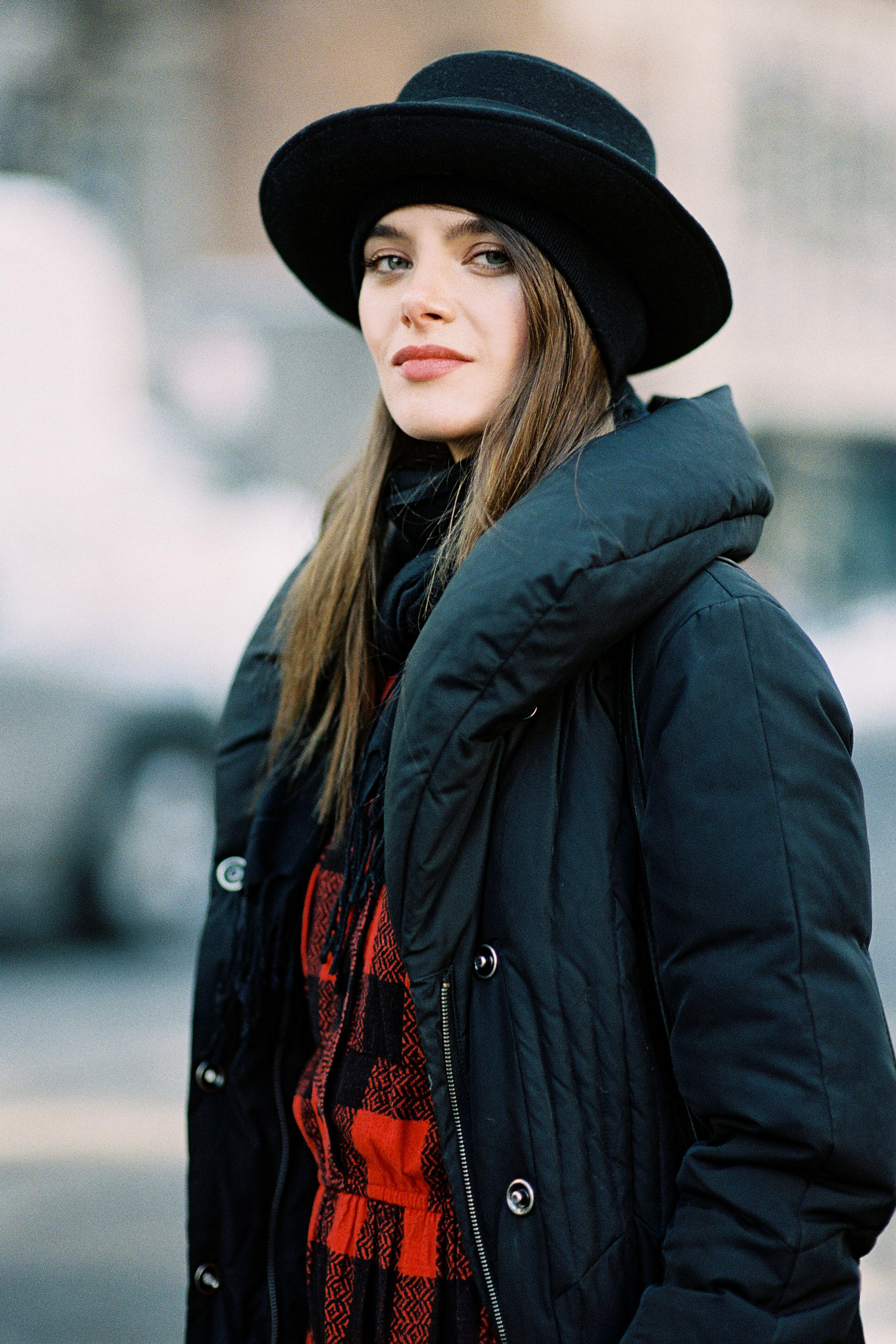puffer jacket street style 2