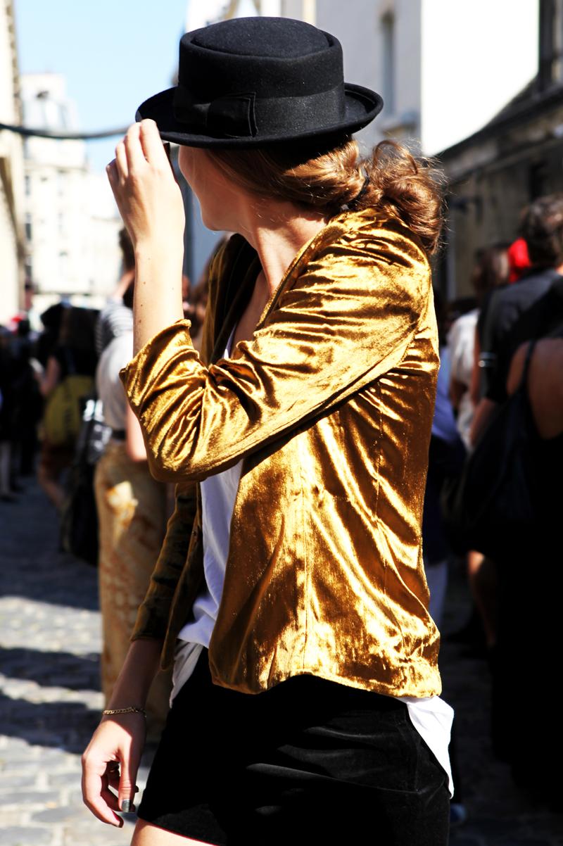 velvet jacket look 1