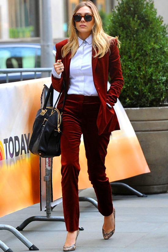 velvet suit look 1
