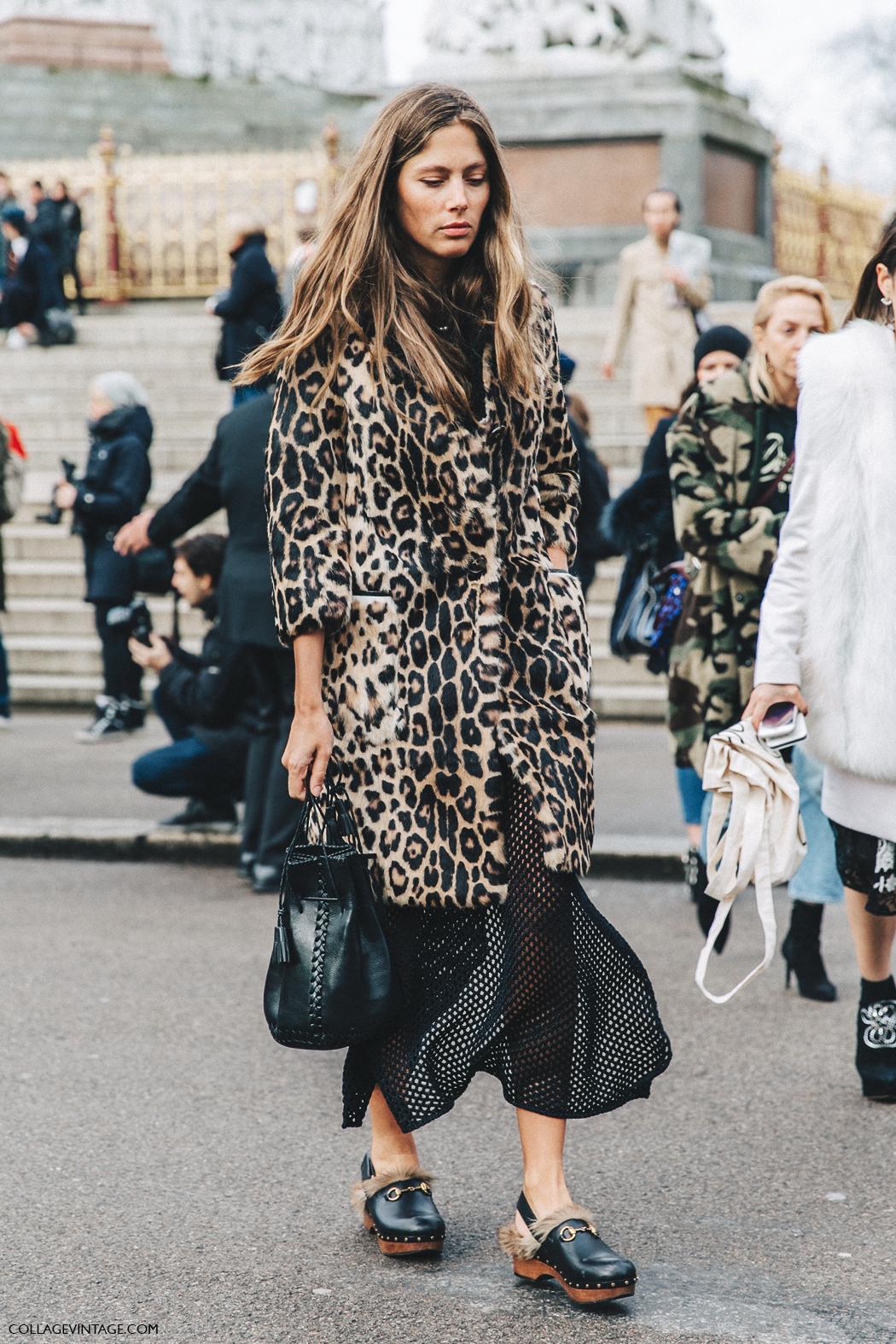 leopard coat street style 1