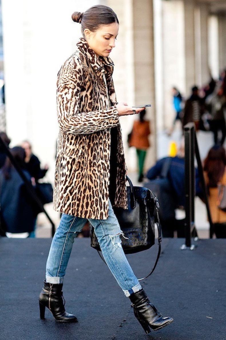 leopard coat street style 4