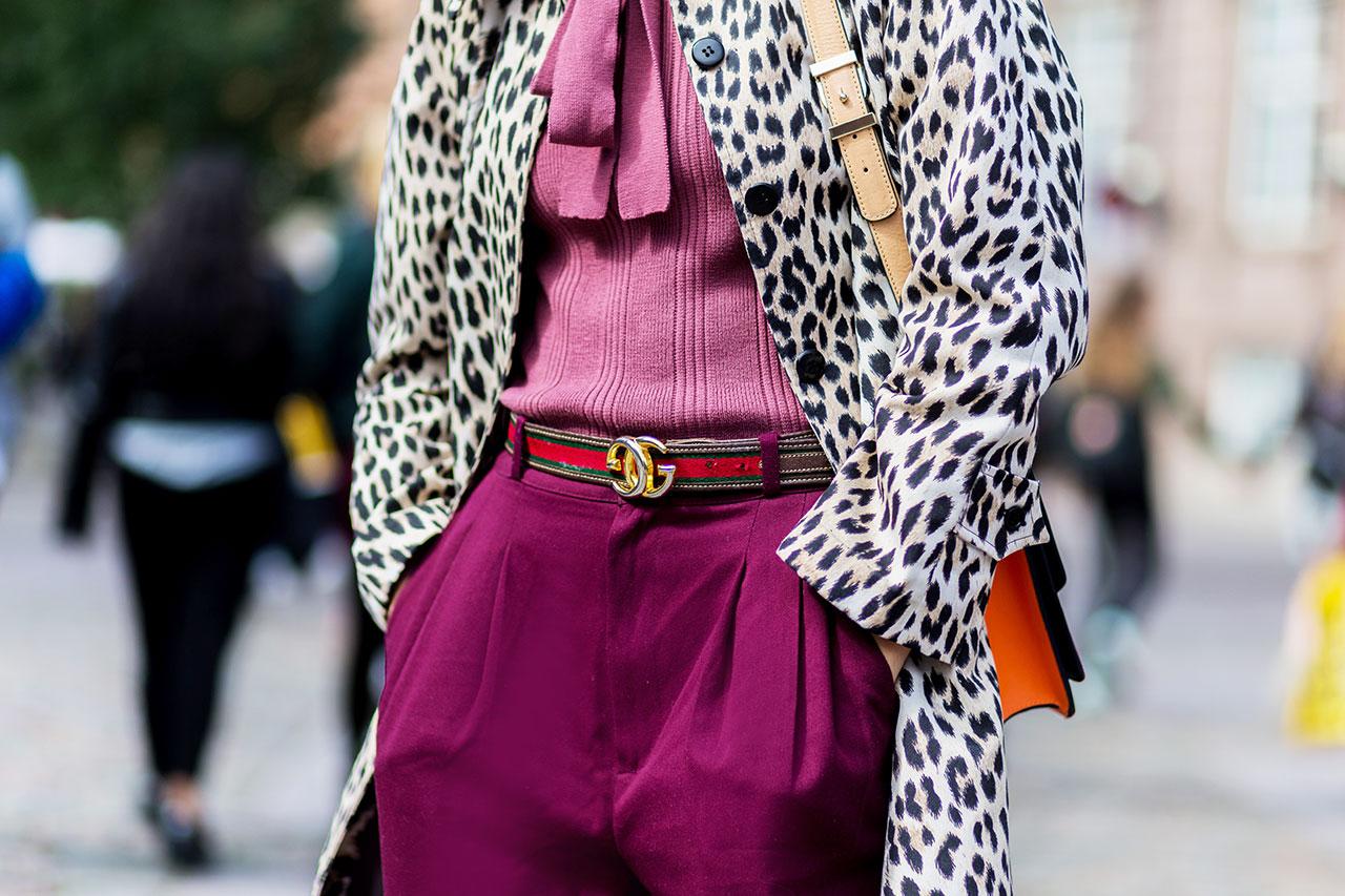 leopard street style look