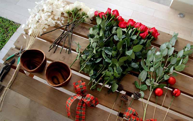 serendipity la florentina arreglo navideño 1