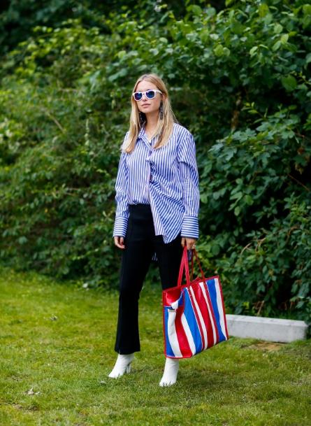 2017 fashion trend striped shirt