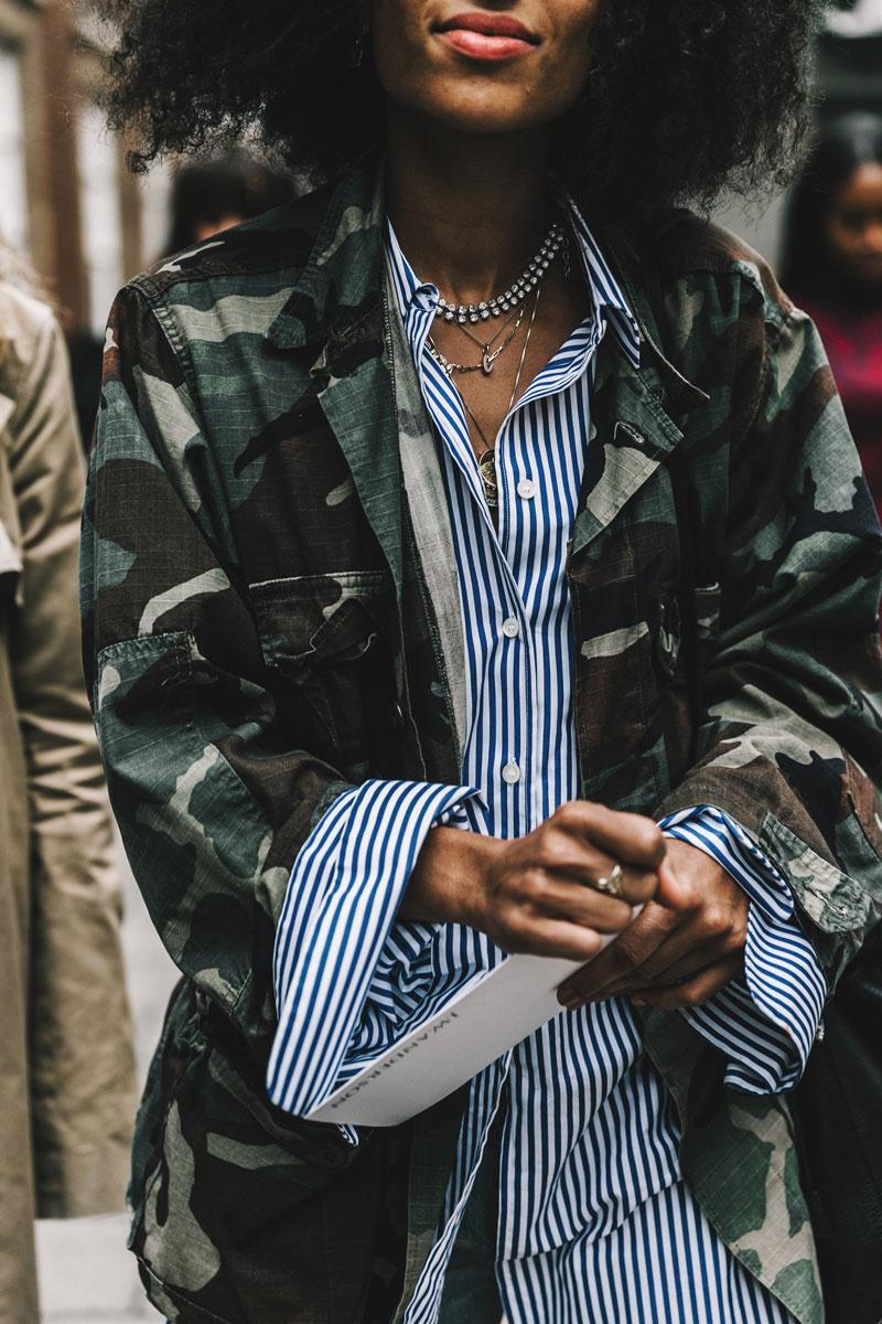 Fashion trend 2017 striped shirt