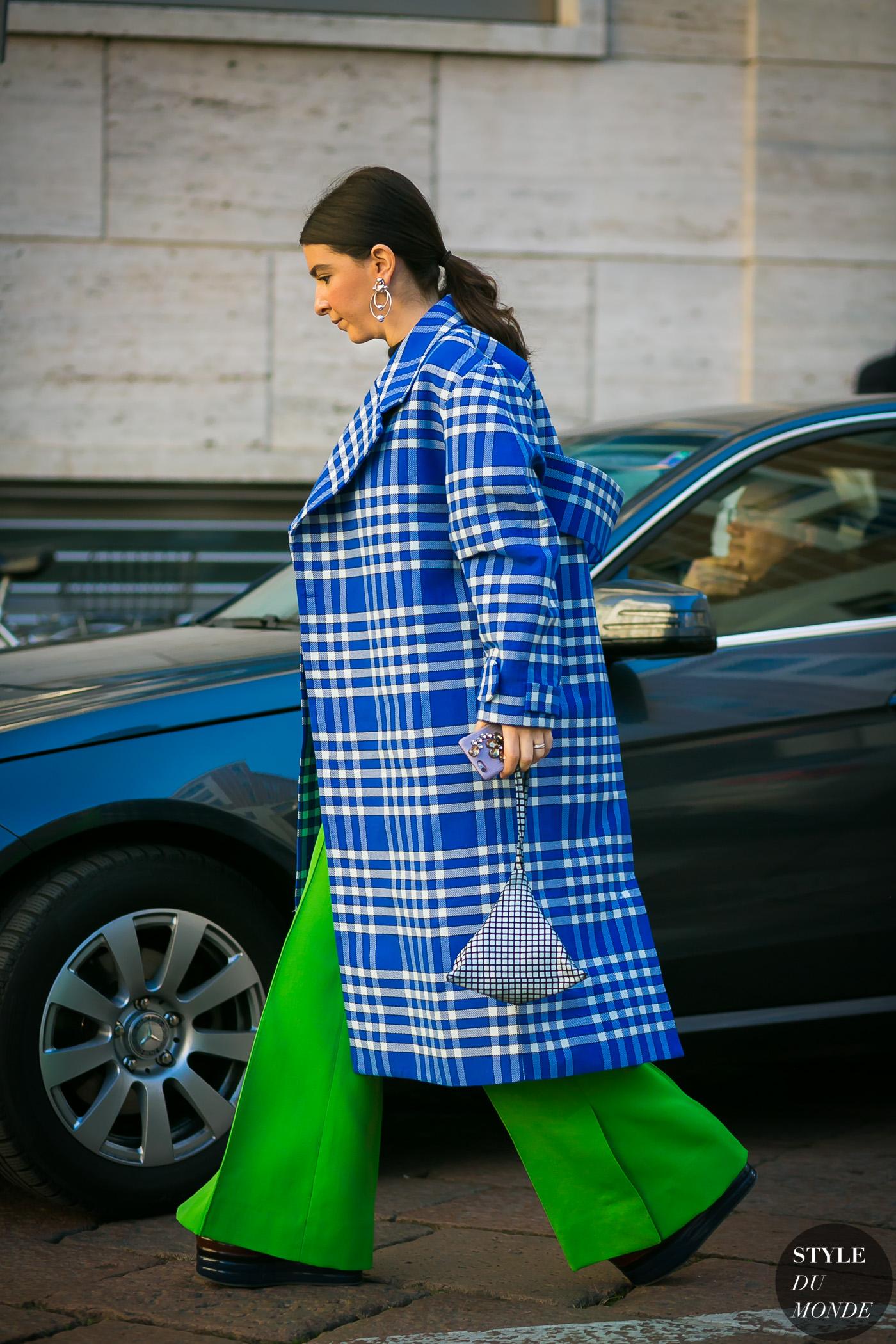 Jacquemus-Plaid-Coat-by-STYLEDUMONDE-Street-Style-Fashion