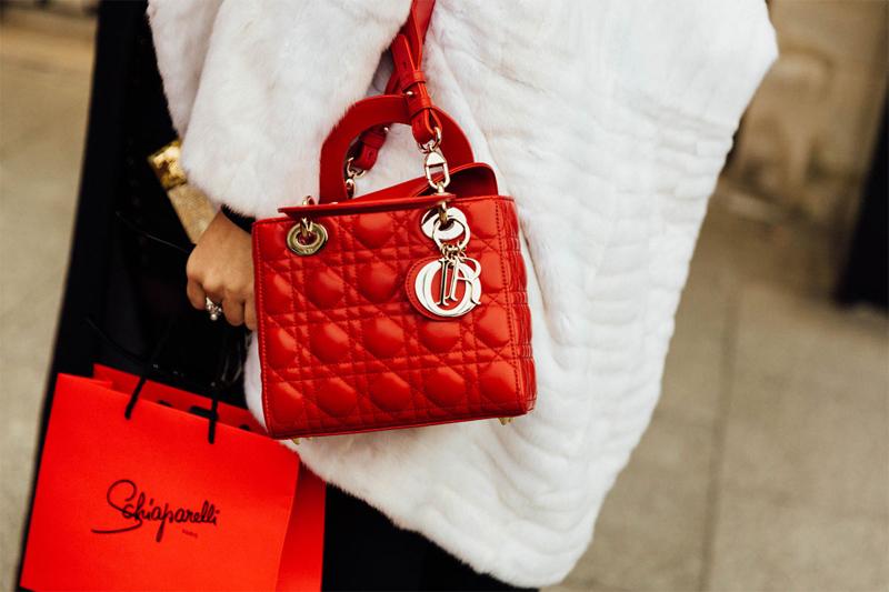 Tendencias 2017 - Fashion trends Dior mini bag golden details