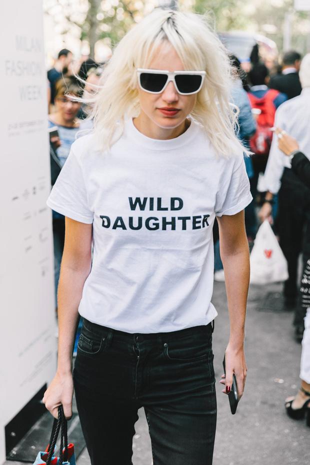 Tendencias 2017 - Fashion trends camisetas con mensaje