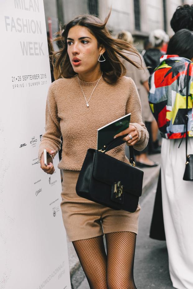 Tendencias 2017 - Fashion trends fishnet trend
