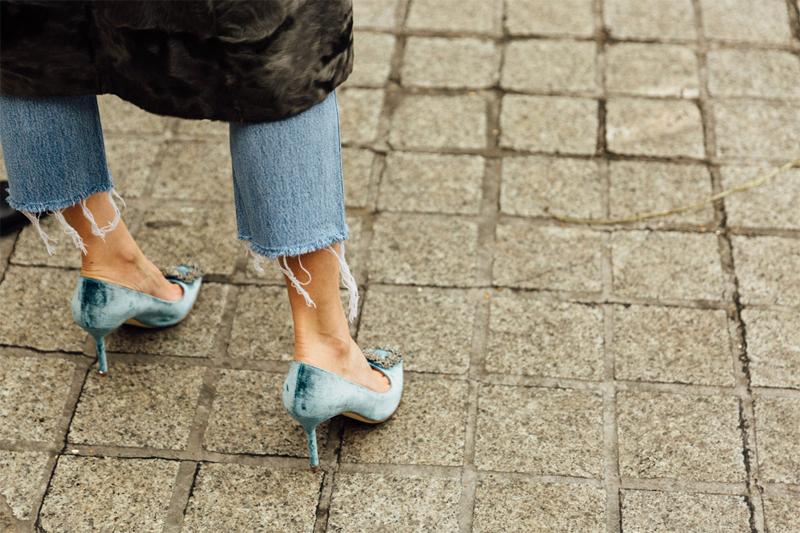 Tendencias 2017 - Fashion trends jeans stilettos