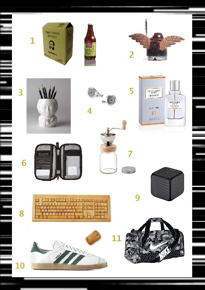 gift guide san valentin hombre
