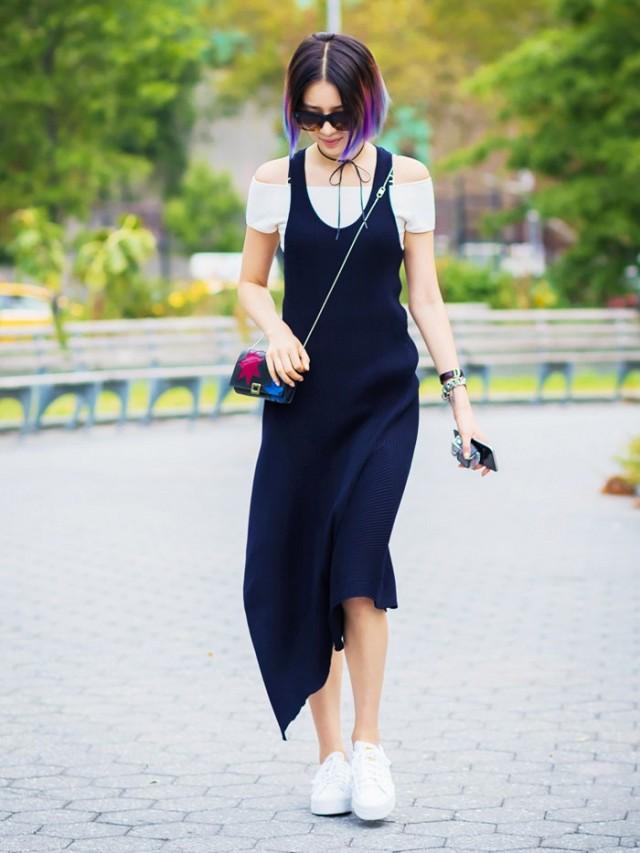 vestido y polo