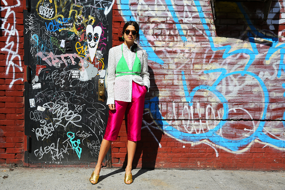 capri pants street style 3