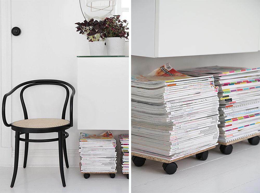 how to store magazines : como almacenar revistas 11