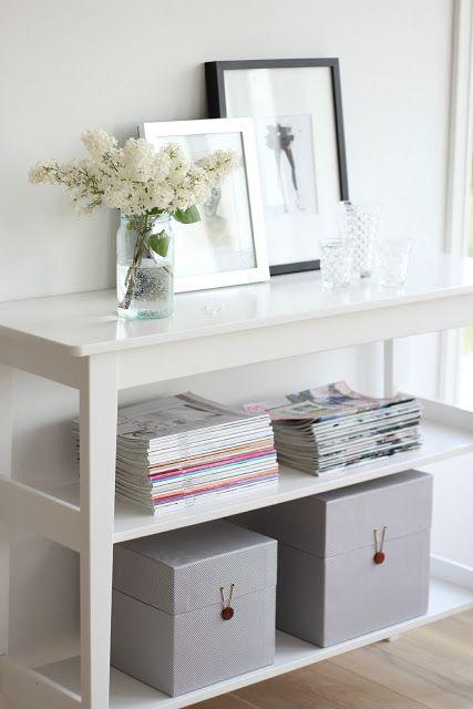 how to store magazines : como almacenar revistas 14