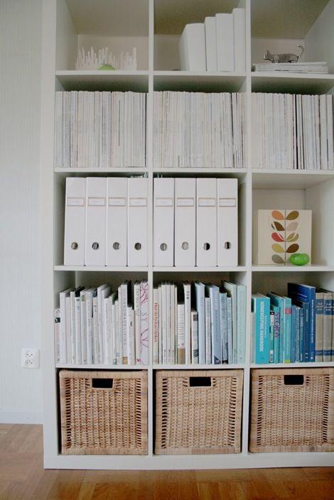 how to store magazines : como almacenar revistas 15