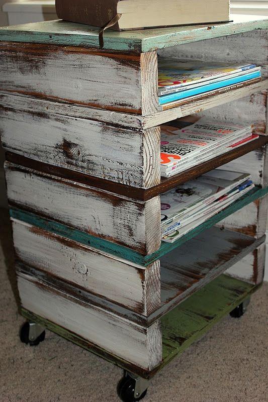 how to store magazines : como almacenar revistas 6