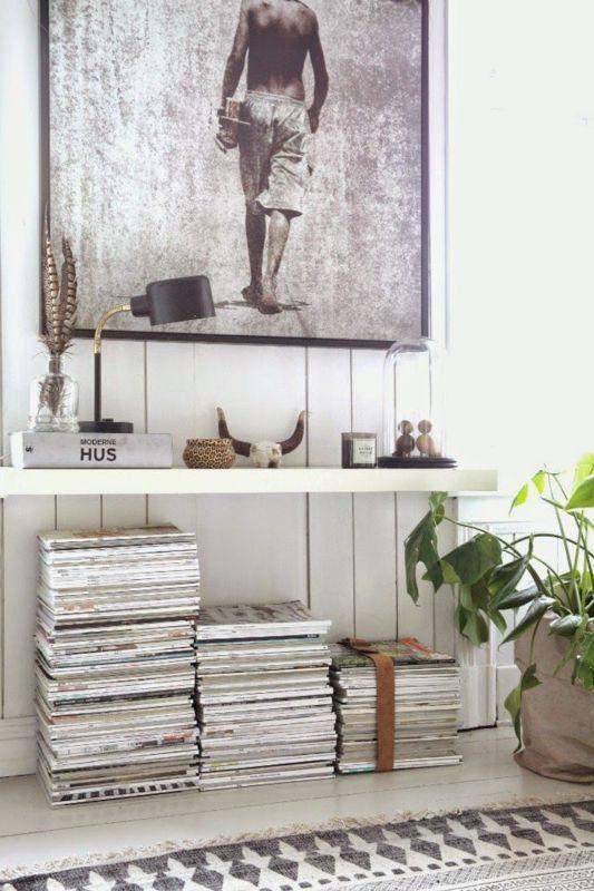 how to store magazines : como almacenar revistas 7