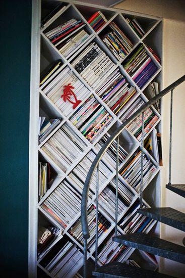 how to store magazines : como almacenar revistas 8