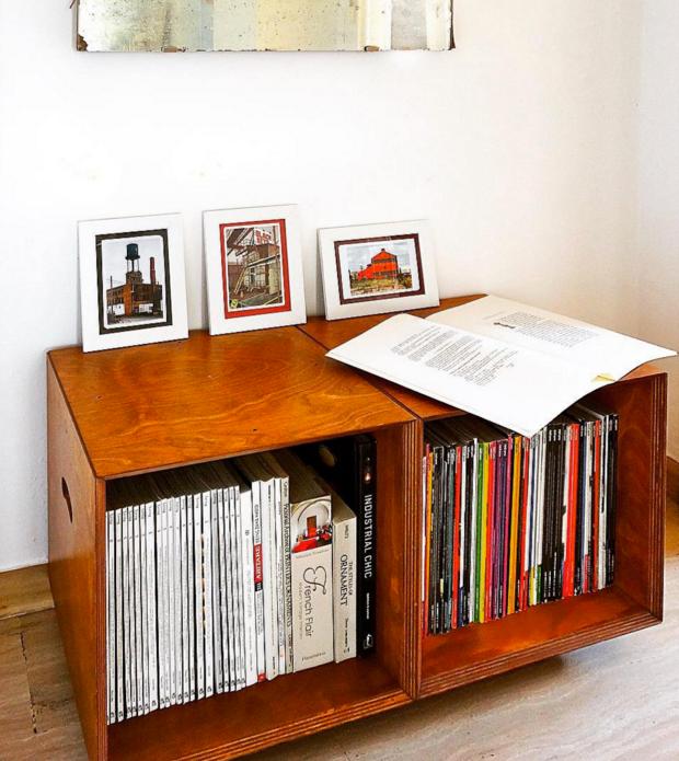 how to store magazines : como almacenar revistas