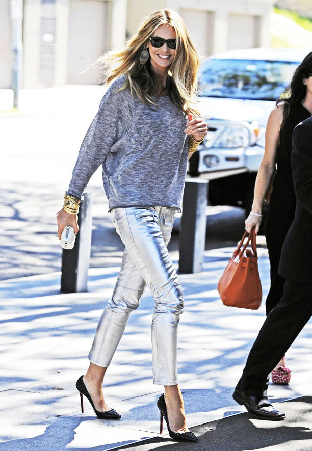 metallic pants 2