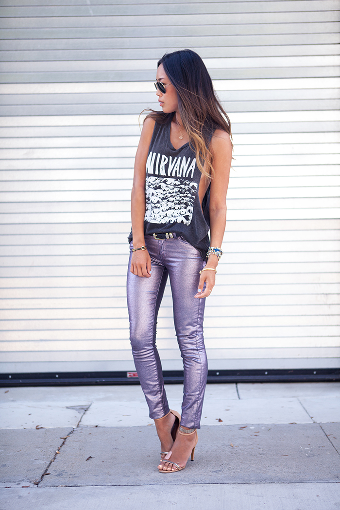 metallic pants 3