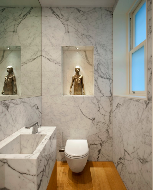 How to make a bathroom look bigger and elegant 1