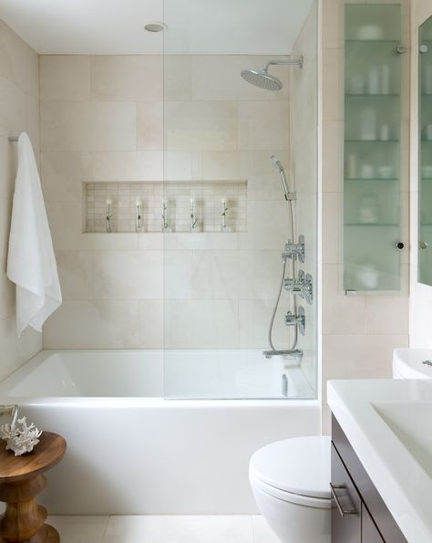 How to make a bathroom look bigger and elegant 13