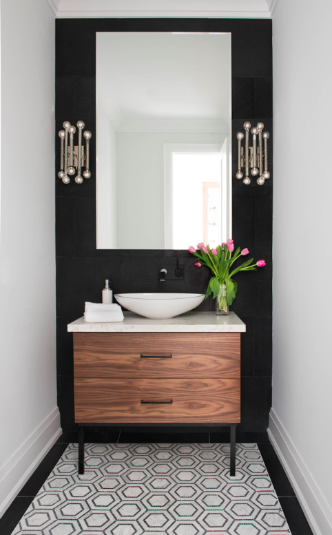 How to make a bathroom look bigger and elegant 14