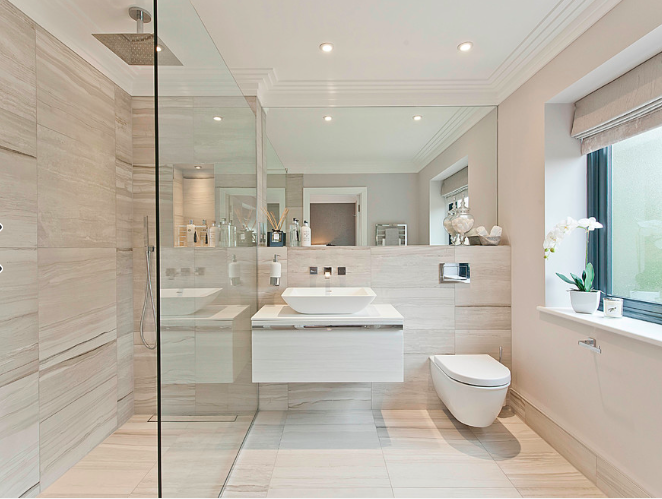 How to make a bathroom look bigger and elegant 5