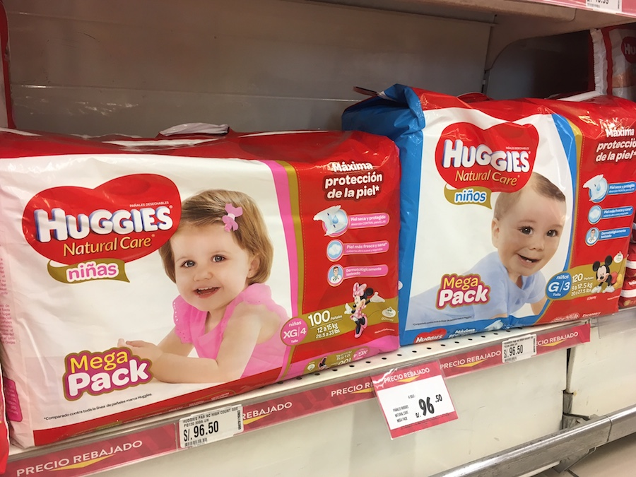 Huggies Natural Care Mega Pack