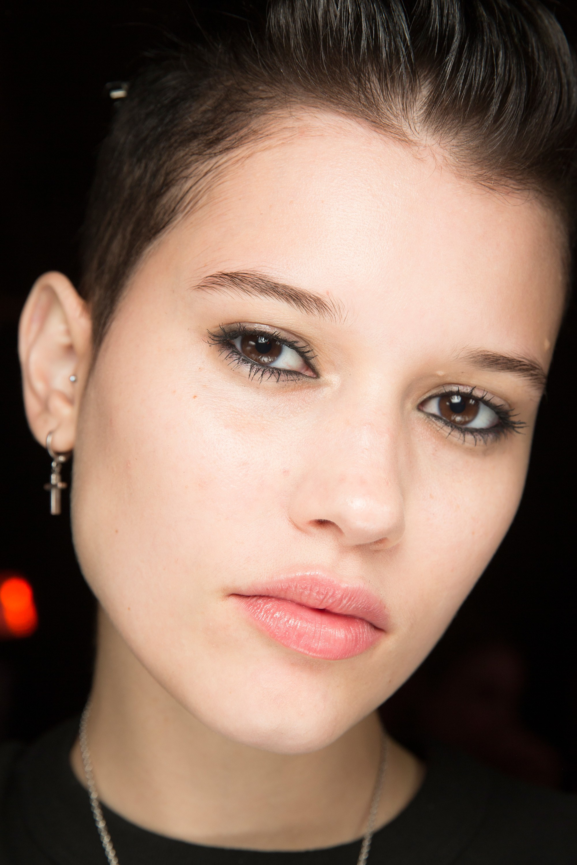 alexander wang fall 2017 beauty looks trend