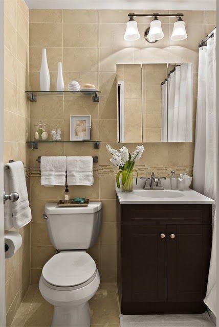 small bathroom storage ideas - cómo aprovechar el espacio en baños pequeños  5