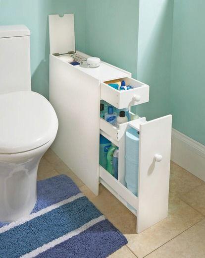 small bathroom storage ideas - cómo aprovechar el espacio en baños pequeños 8