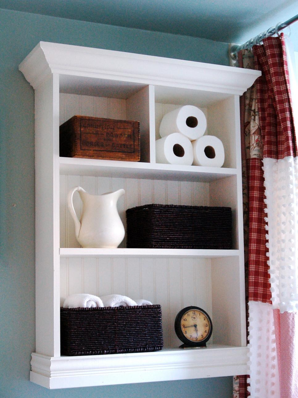 storage ideas small bathroom