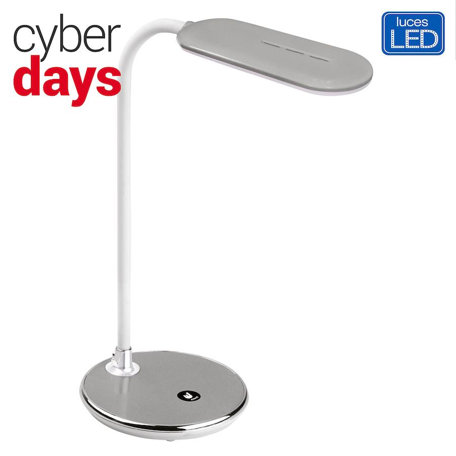 8.Lámpara de escritorio Parrot gris