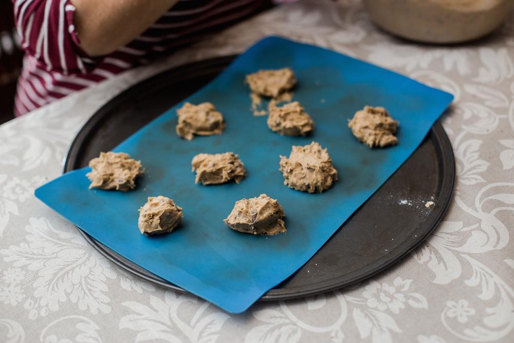 Receta galletas de chocolate chip - Jimena Agois 5