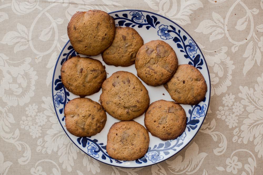 Receta galletas de chocolate chip - Jimena Agois 8